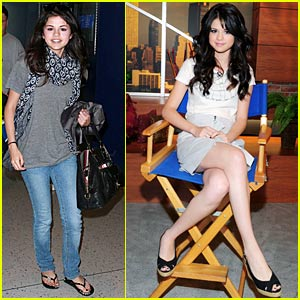 Selena Gomez Jets To Teen Choice Awards