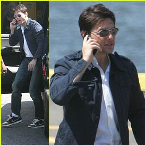 Tom Cruise is 'Copter Cool