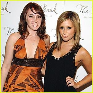Ashley Tisdale Breaks The Bank