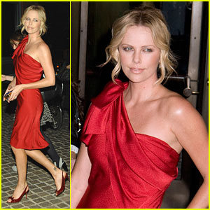 Charlize Theron Battles in New York