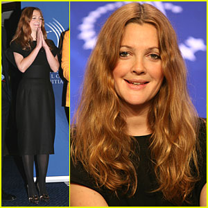 Drew Barrymore Fills The Cup