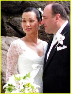 James Gandolfini Wedding Pictures