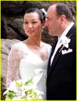 James Gandolfini Wedding Pictures