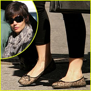 Katie Holmes is a Ballet Babe