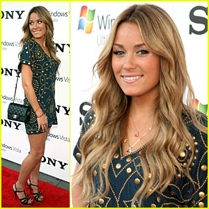 Lauren Conrad Makes a Graphic Splash