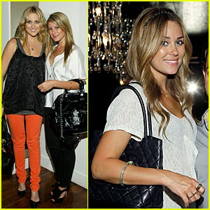 Lauren Conrad's White Tie Affair
