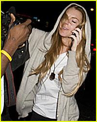 Lindsay Lohan Punched Paparazzi?