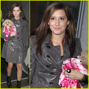 Ashley Tisdale's Manic Morning