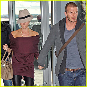 David Beckham is Heathrow Hot