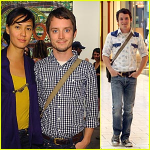 Elijah Wood: Apple Of His Eye
