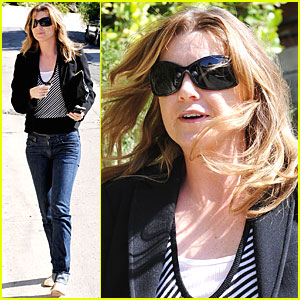 Ellen Pompeo Gets Fred Segal Sassy