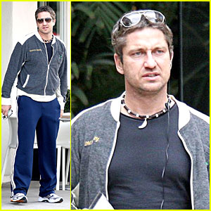 Gerard Butler's Power Lunch