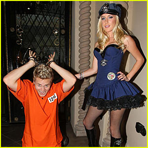 Heidi = Police Officer, Spencer = Prisoner