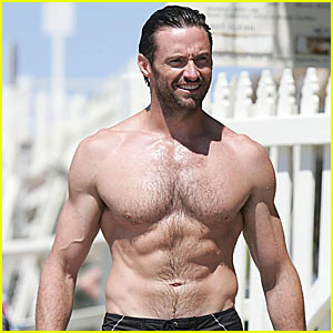 Hugh Jackman Sells His Six-Pack Stomach