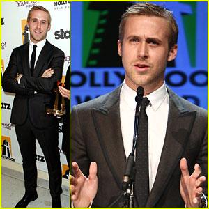 Ryan Gosling Digs Dustin Hoffman