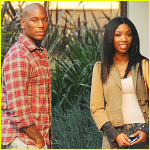 Brandy & Tyrese: New Couple?  Nope!
