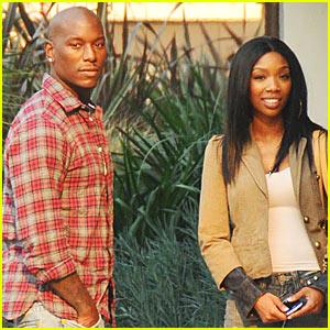 Brandy & Tyrese: New Couple?  Nope!
