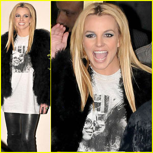 Britney Spears Shows Off Her X-Factor