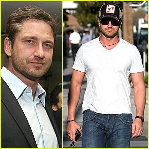 Gerard Butler Jumps On Geox