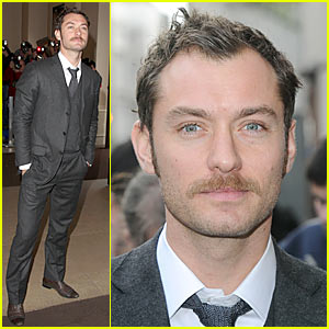 Jude Law's Evening Standard 'Stache