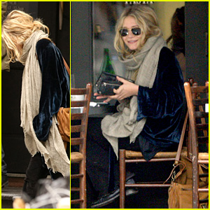 Mary-Kate Olsen Likes To Lunch