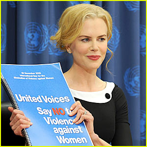 Nicole Kidman: Say No To Violence Against Women!