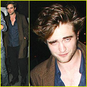 Robert Pattinson Enters the Twilight Zone