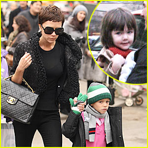 Suri Cruise Hits The Big Apple Circus