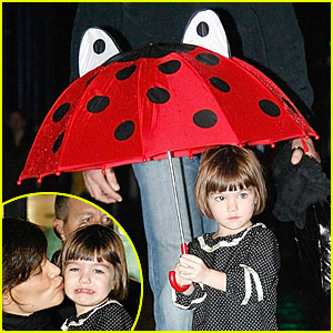 Suri Cruise is Ladybug Lovely
