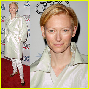 Tilda Swinton is Honored At AFI