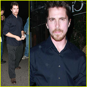 Christian Bale Dines With Two-Face