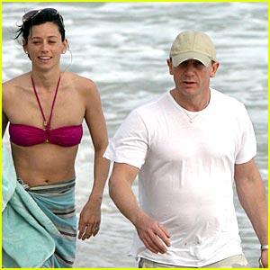 Daniel Craig & Satsuki Mitchell: Baby Boom
