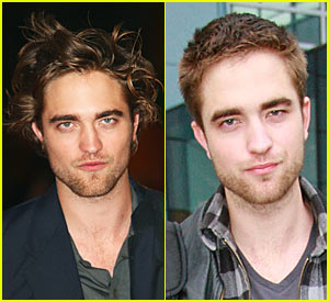 Robert Pattinson: Short Haircut!
