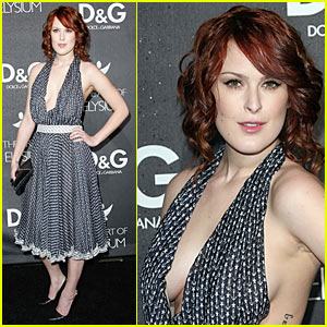 Rumer Willis Does D&G