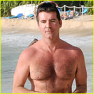 Simon Cowell Dreams Of A Barbados Christmas