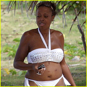 Star Jones is a Bikini Babe