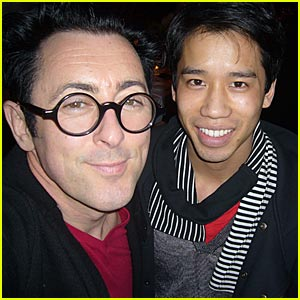 Alan Cumming Interview -- JustJared.com Exclusive