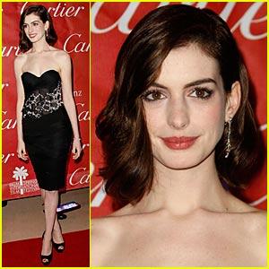 Anne Hathaway is a Balmain Babe