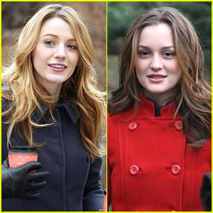 Blake & Leighton Gossip In Central Park