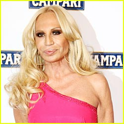 Donatella Versace Topless?  Nope!