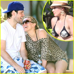 Hilary Duff: Bikini-Clad Ghost Whispherer