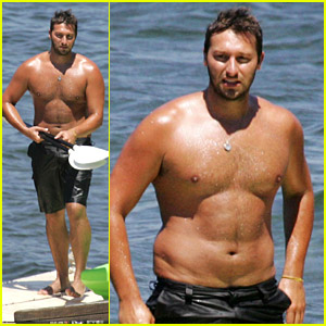 Ian Thorpe Swims in Sydney