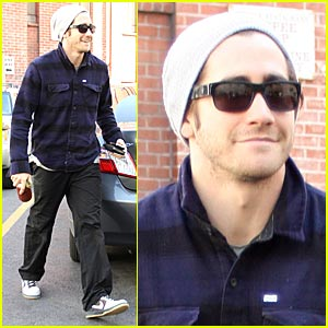 Jake Gyllenhaal is a Beanie Boy