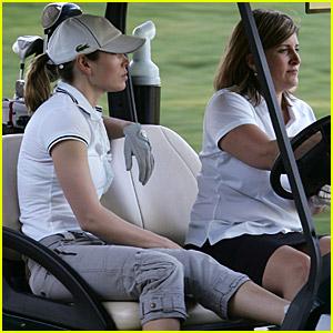 Jessica Biel Is Going Golfing