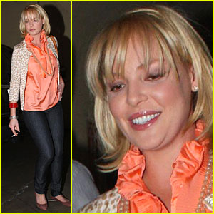 Katherine Heigl Bangs It Out