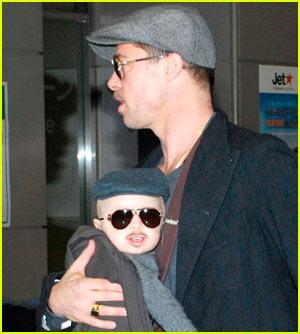 Knox Jolie-Pitt: I'm Brad Pitt's Mini-Me!