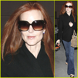 Marcia Cross Gives Her Locks Some Love