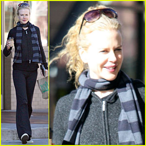 Nicole Kidman's New Year Yoga