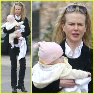 Nicole Kidman: Sunday Rose Check-Up!
