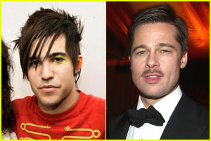 Pete Wentz Loves (And Hates) Brad Pitt
